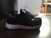 Ladies Safety Shoes Purple Size 7