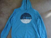 XXL Animal Hoodie in Blue