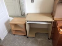 Computer desk (£35) and/or printer table (£15) - £45 for both
