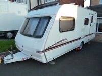 2006 Swift Charisma 560 single axle touring caravan & new awning immaculate condition