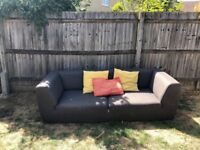Free three seater and two seater sofas to be collected this weekend