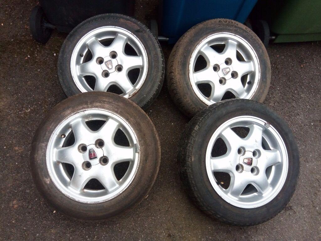 """Rover Metro 13"""" Alloy wheels"""