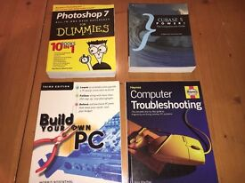 Photoshop and Cubase books for sale
