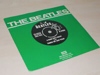 The Beatles 45RPM Hard Day's Night & Things We Said Today Single Vinyl