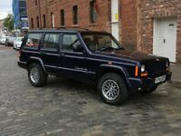 Jeep Cherokee XJ Limited 4.0 Automatic. 1999. Very Low Milage. MOT until 06/2019.
