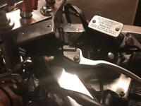 HAYABUSA BANDIT GSXR BRAKE AND CLUTCH MASTER CYLINDERS PERFECT WORKING ORDER