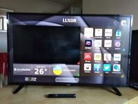 Luxor 4k uhd smart 50 inch led tv