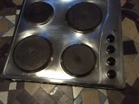 electric hob in full working order