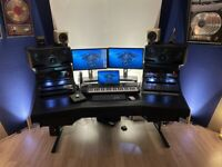 Argosy Dual 15 music studio desk