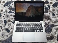 Macbook Pro 13 inch Late 2012