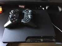 PS3 Console, Controllers Cables & Games