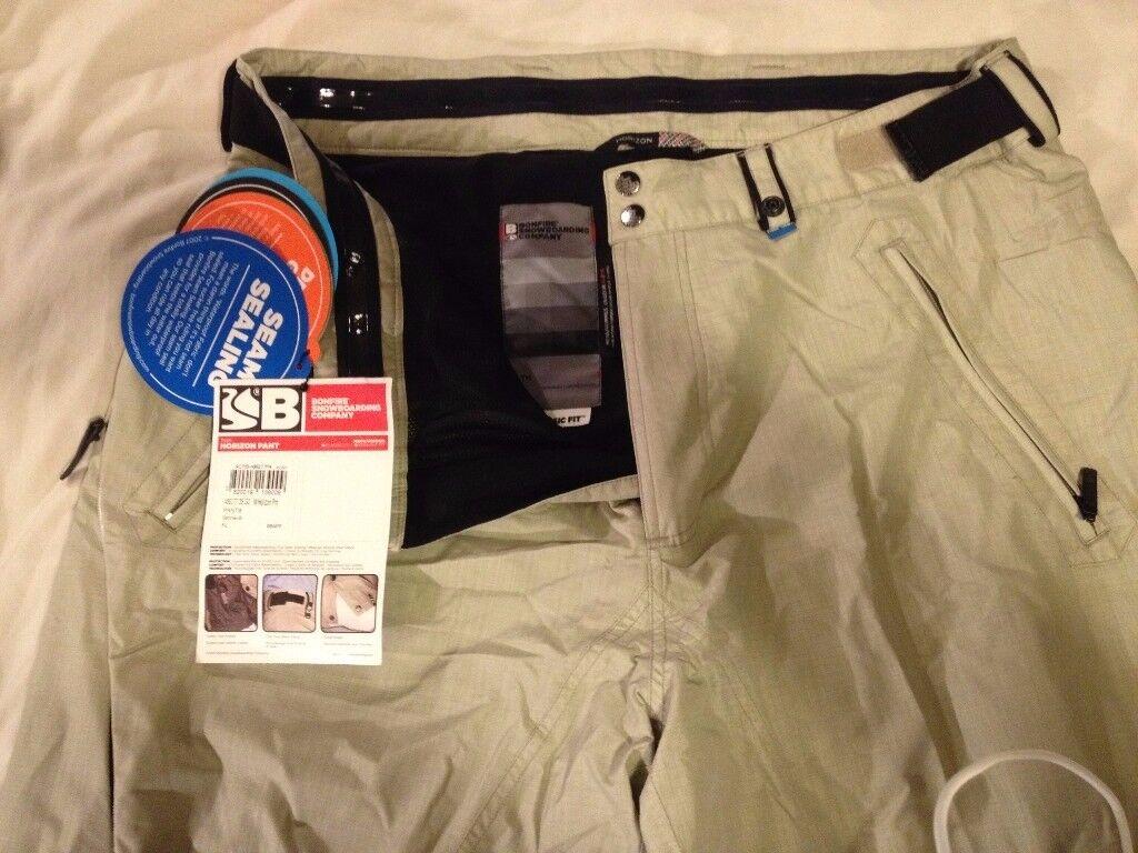 Bonfire Ripstop seam sealed New tagged board/ski pants sz XL-XXL