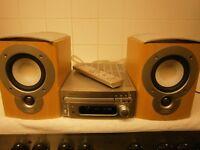 Denon DM35 + SC-M51 Speakers + Remote Control