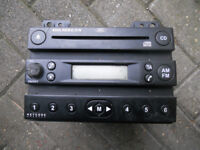 Selection of Original Ford Focus Fiesta Stereos RDS4500 4500 RDS ALL with CODES