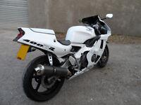 Honda CBR400rr Gullarm NC29 BabyBlade. 400cc sports bike classic motorcycle long MOT SWAP 600 or WHY