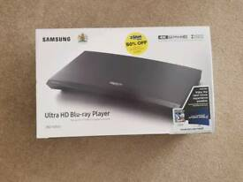 Samsung 4k ultra HD blue Ray player - brand new and unopened