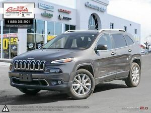 2016 Jeep Cherokee Limited *4X4, LEATHER, NAV*