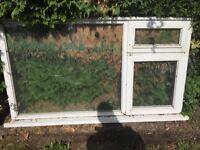 Free Timber Double Glazed Window 1.8 x 1.05m