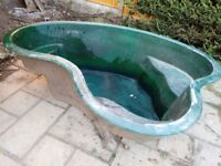 Pond liner , waterfall feature, garden ornaments & stone