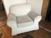 *FREE* Cream armchair