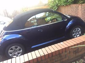 VW Beetle Convertible 1.6 LUNA -7months MOT, Part Service History, Leather Interior, Heated Seats.