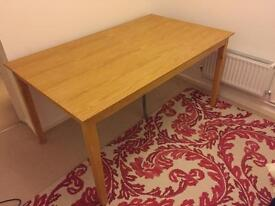 JOHN LEWIS Solid Wood Desk / Dining Table - £70 open to offers!