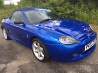 MGTF 115 COOL BLUE **58000 MILES**YEARS MOT**NEW CLUTCH**BARGAIN