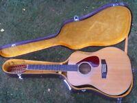 Yamaha FG-630 - Slotted Headstock, 12 String Acoustic with original hard case