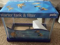 Starter tank and filter