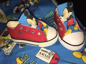 Mickey Mouse Personalised Pumps C3