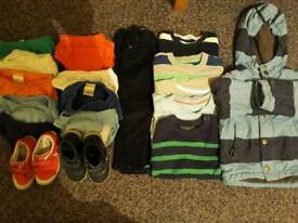 Boy 2-3 years clothes and shoe bundle