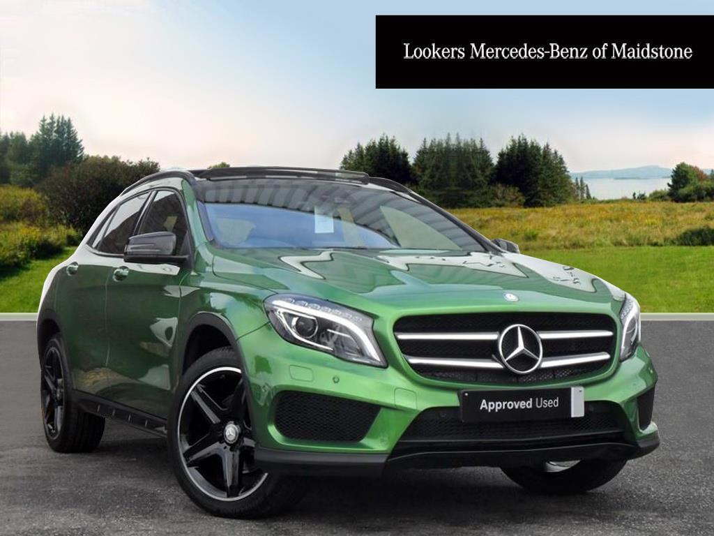 mercedes benz gla class gla 220 d 4matic amg line premium plus green 2017 01 09 in maidstone. Black Bedroom Furniture Sets. Home Design Ideas