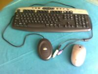 Belkin Wireless Keyboard and Optical Mouse