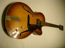 Hofner Senator SE 1 electric guitar - Germany - '60s - Model 5124/05 Brownburst
