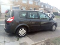 Renault grand scenic 1.6 vvti 7 seater 5 speed manual