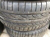 255 55 18 Continental etc. BMW, Mercedes Part Worn Tyres 225/40.285/35/45/17,19/275/20/30/295/21,315