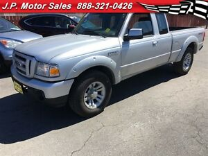 2011 Ford Ranger Sport, Extended Cab, Automatic, 4x4