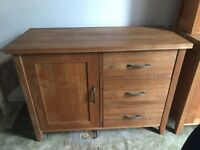 Solid oak cupboard for sale