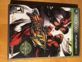 Street Fighter IV platinum xbox 360