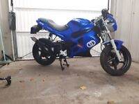 Gilera dna 50cc 55 plate low mileage