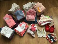 Baby Girl 6-9m Clothes Bundle (over 70 items)