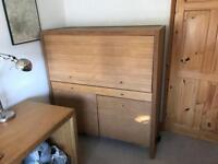 Habitat Barello Oak Bureau Desk / Cabinet