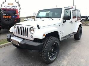 2017 Jeep Wrangler Sahara**DEMO**35 INCH WHEELS**ONLY-1358 KMS**