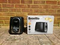 Breville VTT361 Style 2 Slice Toaster - Black