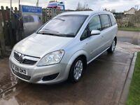 Vauxhall Zafira 1.9cdti 120 Breeze Plus mpv