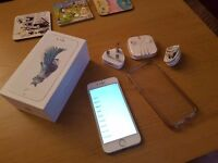 iPhone 6s 64gb unlocked silver (perfect condition)
