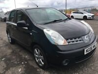 2006 Nissan NOTE 1.6 SVE , mot - March 2019 , only 33,000 miles, service history,astra,focus,mpv,207