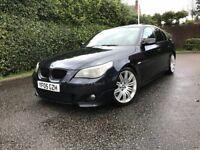 2005 BMW 535D M SPORT AUTO MEGA SPEC EVERY OPTIONAL EXTRA BIG LIST FSH 19 ALLOYS 520d 525d 530d e61