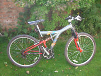 APOLLO OUTRAGE FULL SUSPENSION MTB ONE OF MANY QUALITY BICYCLES FOR SALE
