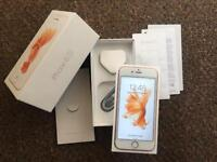 Apple iPhone 6s rose gold 16gb Unlocked boxed